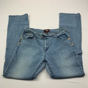 Angels jeans stretch light wash deim